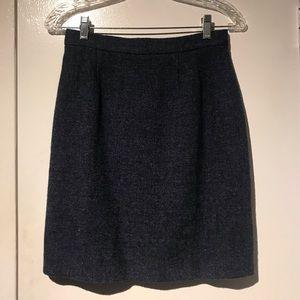 Vintage Ines de la Fressange Pure Laine Skirt